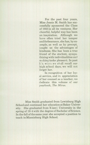 Page 12, 1933 Edition, Miamisburg High School - Mirus Yearbook (Miamisburg, OH) online yearbook collection