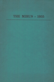 1935 Edition, Miamisburg High School - Mirus Yearbook (Miamisburg, OH)