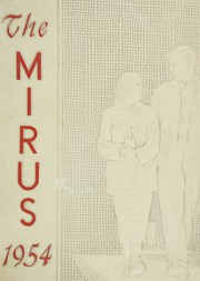 1954 Edition, Miamisburg High School - Mirus Yearbook (Miamisburg, OH)