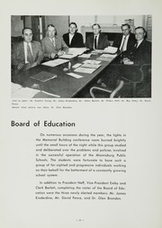 Page 12, 1954 Edition, Miamisburg High School - Mirus Yearbook (Miamisburg, OH) online yearbook collection