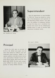 Page 13, 1954 Edition, Miamisburg High School - Mirus Yearbook (Miamisburg, OH) online yearbook collection