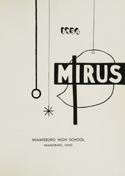 Page 5, 1954 Edition, Miamisburg High School - Mirus Yearbook (Miamisburg, OH) online yearbook collection