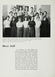 Page 8, 1954 Edition, Miamisburg High School - Mirus Yearbook (Miamisburg, OH) online yearbook collection