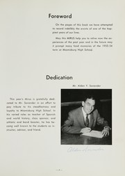 Page 9, 1954 Edition, Miamisburg High School - Mirus Yearbook (Miamisburg, OH) online yearbook collection