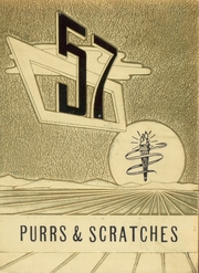 1957 Edition, Franklin High School - Purrs and Scratches Yearbook (Franklin, OH)