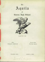 Page 5, 1939 Edition, Geneva High School - Aquila Yearbook (Geneva, OH) online yearbook collection