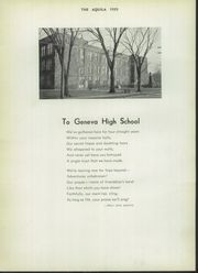 Page 8, 1939 Edition, Geneva High School - Aquila Yearbook (Geneva, OH) online yearbook collection
