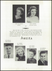 Page 7, 1957 Edition, Geneva High School - Aquila Yearbook (Geneva, OH) online yearbook collection