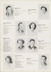 Page 16, 1951 Edition, Springfield High School - Spartana Yearbook (Akron, OH) online yearbook collection