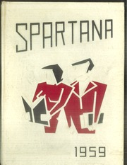 Springfield High School - Spartana Yearbook (Akron, OH) online yearbook collection, 1959 Edition, Page 1