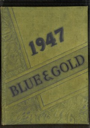 Columbian High School - Blue and Gold Yearbook (Tiffin, OH) online yearbook collection, 1947 Edition, Page 1