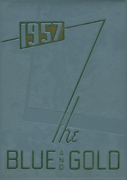 Page 1, 1957 Edition, Columbian High School - Blue and Gold Yearbook (Tiffin, OH) online yearbook collection