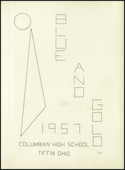Page 5, 1957 Edition, Columbian High School - Blue and Gold Yearbook (Tiffin, OH) online yearbook collection