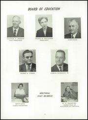 Page 10, 1958 Edition, Columbian High School - Blue and Gold Yearbook (Tiffin, OH) online yearbook collection