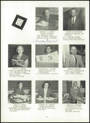 Page 14, 1958 Edition, Columbian High School - Blue and Gold Yearbook (Tiffin, OH) online yearbook collection