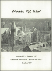 Page 8, 1958 Edition, Columbian High School - Blue and Gold Yearbook (Tiffin, OH) online yearbook collection