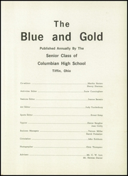 Page 5, 1959 Edition, Columbian High School - Blue and Gold Yearbook (Tiffin, OH) online yearbook collection
