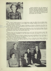 Page 14, 1949 Edition, Steubenville High School - Crimsonite Yearbook (Steubenville, OH) online yearbook collection