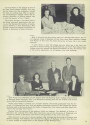 Page 17, 1949 Edition, Steubenville High School - Crimsonite Yearbook (Steubenville, OH) online yearbook collection