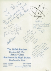Page 5, 1956 Edition, Steubenville High School - Crimsonite Yearbook (Steubenville, OH) online yearbook collection