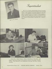 Page 10, 1951 Edition, Lemon Monroe High School - Monocle Yearbook (Monroe, OH) online yearbook collection