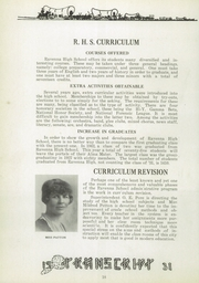 Page 24, 1931 Edition, Ravenna High School - Tappan Tatler Yearbook (Ravenna, OH) online yearbook collection