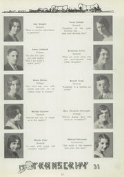 Page 29, 1931 Edition, Ravenna High School - Tappan Tatler Yearbook (Ravenna, OH) online yearbook collection