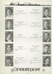 Page 34, 1931 Edition, Ravenna High School - Tappan Tatler Yearbook (Ravenna, OH) online yearbook collection
