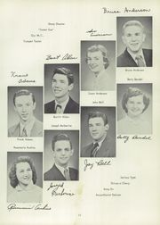 Page 15, 1953 Edition, Ravenna High School - Tappan Tatler Yearbook (Ravenna, OH) online yearbook collection