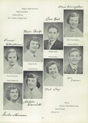 Page 17, 1953 Edition, Ravenna High School - Tappan Tatler Yearbook (Ravenna, OH) online yearbook collection
