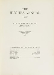 Page 7, 1927 Edition, Hughes High School - Yearbook (Cincinnati, OH) online yearbook collection