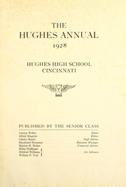 Page 5, 1928 Edition, Hughes High School - Yearbook (Cincinnati, OH) online yearbook collection