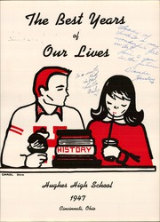 Page 5, 1947 Edition, Hughes High School - Yearbook (Cincinnati, OH) online yearbook collection