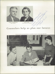 Page 16, 1956 Edition, Hughes High School - Yearbook (Cincinnati, OH) online yearbook collection