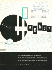 Page 7, 1956 Edition, Hughes High School - Yearbook (Cincinnati, OH) online yearbook collection