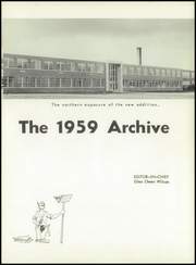 Page 5, 1959 Edition, Solon High School - Archive Yearbook (Solon, OH) online yearbook collection
