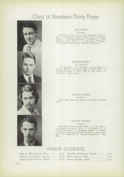 Page 16, 1933 Edition, Logan High School - Aerial Yearbook (Logan, OH) online yearbook collection