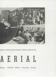 Page 7, 1941 Edition, Logan High School - Aerial Yearbook (Logan, OH) online yearbook collection