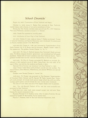 Page 15, 1942 Edition, East Technical High School - June Bug Yearbook (Cleveland, OH) online yearbook collection