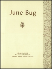 Page 7, 1942 Edition, East Technical High School - June Bug Yearbook (Cleveland, OH) online yearbook collection