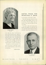 Page 11, 1938 Edition, East High School - Crucible Yearbook (Columbus, OH) online yearbook collection