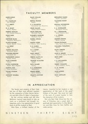 Page 13, 1938 Edition, East High School - Crucible Yearbook (Columbus, OH) online yearbook collection