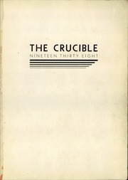 Page 3, 1938 Edition, East High School - Crucible Yearbook (Columbus, OH) online yearbook collection