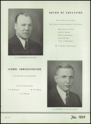 Page 12, 1939 Edition, East High School - Crucible Yearbook (Columbus, OH) online yearbook collection