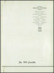 Page 5, 1939 Edition, East High School - Crucible Yearbook (Columbus, OH) online yearbook collection