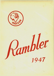 1947 Edition, Trotwood Madison High School - Rambler Yearbook (Trotwood, OH)