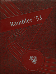 1953 Edition, Trotwood Madison High School - Rambler Yearbook (Trotwood, OH)
