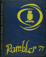 1971 Edition, Trotwood Madison High School - Rambler Yearbook (Trotwood, OH)