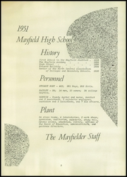 Page 7, 1951 Edition, Mayfield High School - Mayfielder Yearbook (Mayfield, OH) online yearbook collection