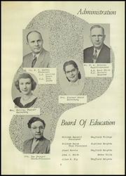 Page 9, 1951 Edition, Mayfield High School - Mayfielder Yearbook (Mayfield, OH) online yearbook collection